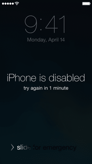 How To Unlock An iPhone If You Forgot Your Passcode And Have No Computer