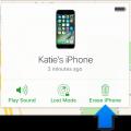 remote delete iphone