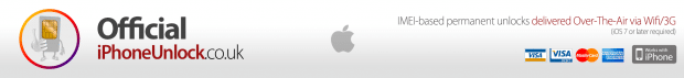Official iPhone Unlock logo