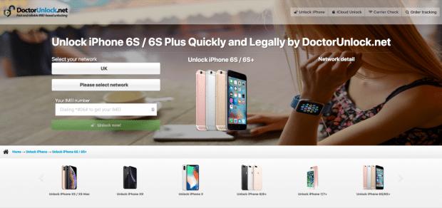 DoctorUnlock iPhone 6 Unlock
