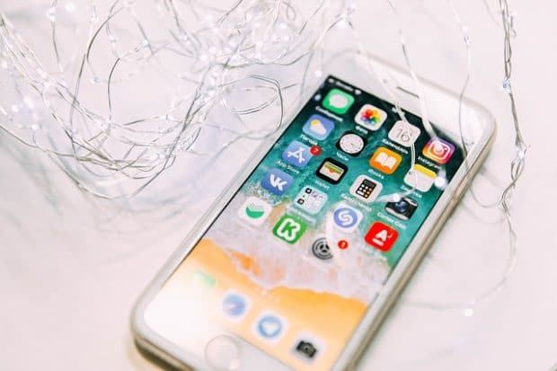 iPhone 8 unlocking process
