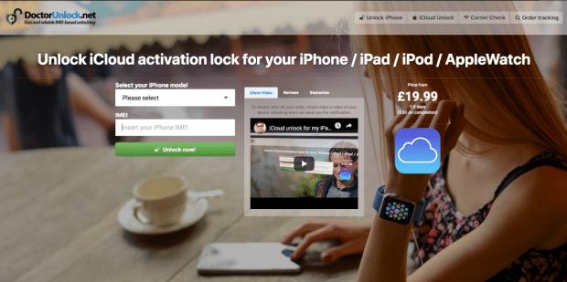 doctorunlock home page